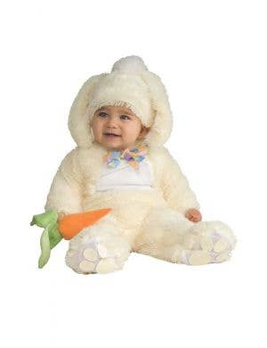 Plush White Easter Bunny Infant Costume
