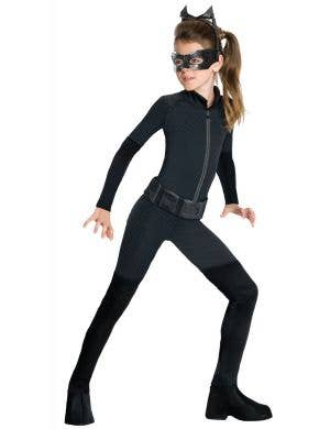 Teen Girls Dark Knight Catwoman Book Week Costume