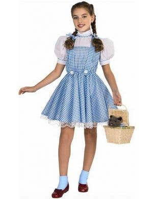 Girl's Wizard of Oz Dorothy Costume Front View