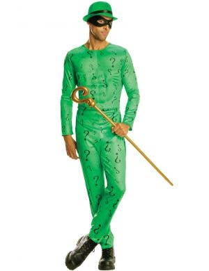 The Riddler Men's Batman Villain Fancy Dress Costume