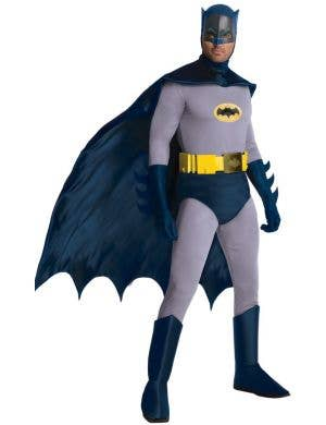 Classic 1966 Batman Men's Deluxe Fancy Dress Costume