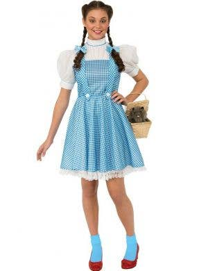 Teen Girls Dorothy Book Week Costume Front View