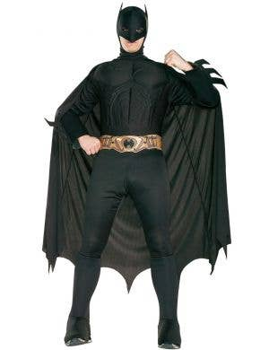 Batman Begins Men's Muscle Chest Superhero Costume