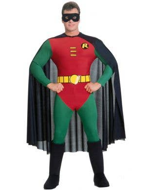 Robin Men's Superhero Fancy Dress Costume