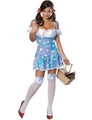Sparkling Dorothy Sequined Sexy Women's Costume