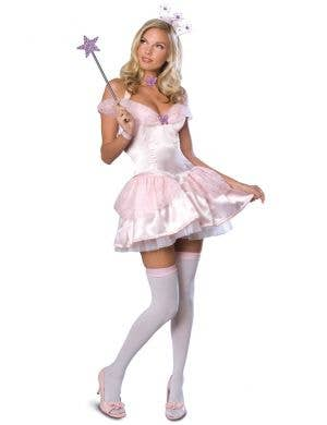Women's Sexy Good Witch Glinda Wizard of Oz Costume