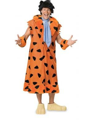 Men's Fred Flintstone Fancy Dress Costume