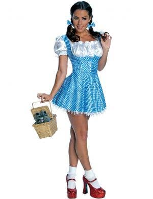 Women's Sexy Dorothy Costume With Sequins