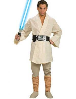 Men's Deluxe Star Wars Luke Skywalker Costume Front