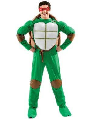 Deluxe Men's Classic 90's Teenage Mutant Ninja Turtles Costume Front