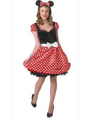 Women's Minnie Mouse Disney Book Week Fancy Dress Costume