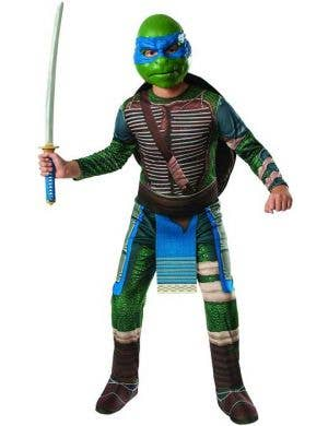 Leonardo Boy's Teenage Mutant Ninja Turtle Costume Front View