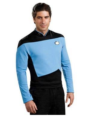 Men's Star Trek Sciences Uniform Front View