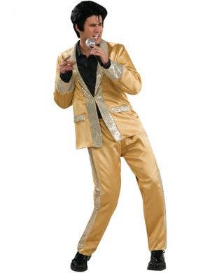 Golden Men's Elvis Presley Costume