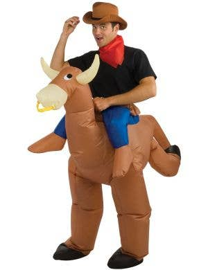 Bull Rider Men's Inflatable Costume