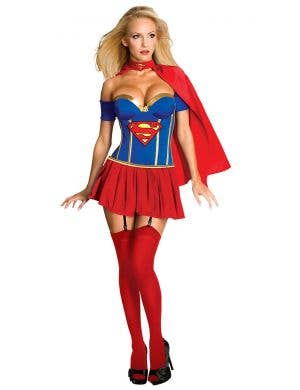 Supergirl Sexy Women's Superhero Costume Main Image