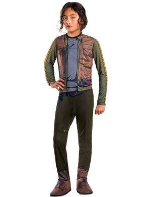 Kids Star Wars Rogue One Jyn Erso Costume Main Image