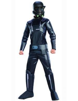 Deluxe Kids Star Wars Death Trooper Costume Main Image