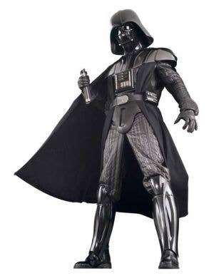 Movie Quality Men's Darth Vader Deluxe Costume Main