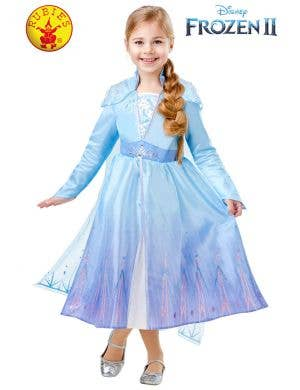 Frozen 2 - Deluxe Girls Elsa Disney Costume