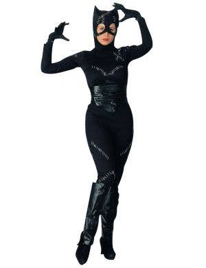 Catwoman Adult's Fancy Dress Costume