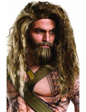 DC Comics Aquaman Costume Wig and Beard Set