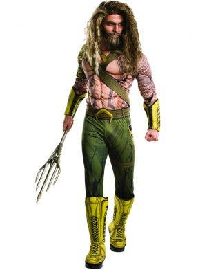 Men's Aquaman DC Comics Fancy Dress Costume Main Image