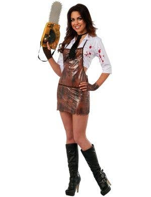 Leather Face Sexy Halloween Costume for Women Main Image