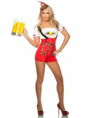 Bavarian Girl Lederhosen Women's Sexy Costume