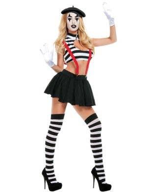 Hush! Women's Sexy Mime Costume