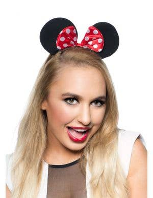 Women's Minnie Mouse Ears Costume Accessory