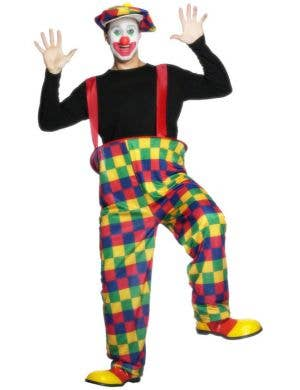 Crazy Clown Men's Budget Costume