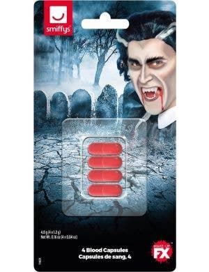 Vampire Fake Liquid Blood Capsules