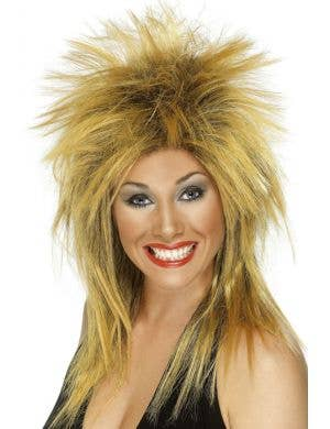 Rock Diva Women's Blonde 80's Wig