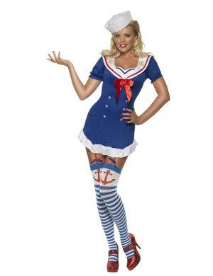 Pin Up Ahoy Sailor Sexy Women's Costume