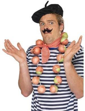 Onion Garland Funny Frenchman Costume Accessory