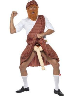 Well Hung Highlander Men's Scotsman Costume