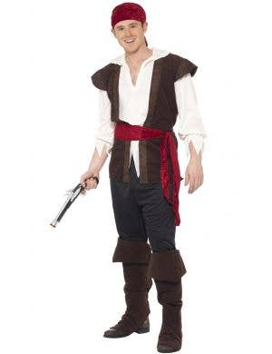 Buccaneer Bounty Men's Pirate Man Fancy Dress Costume