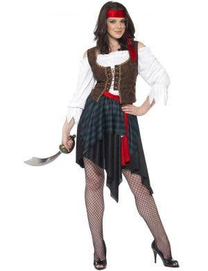 Buccaneers Bounty Women's Pirate Fancy Dress Costume