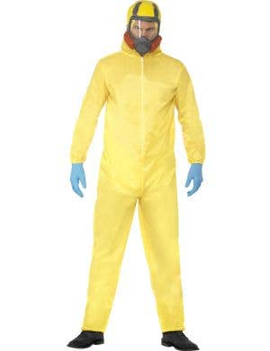 Walter White Yellow Hazmat Suit Breaking Bad Costume Front