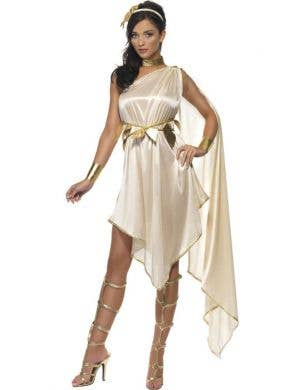Golden Goddess Women's Roman Costume