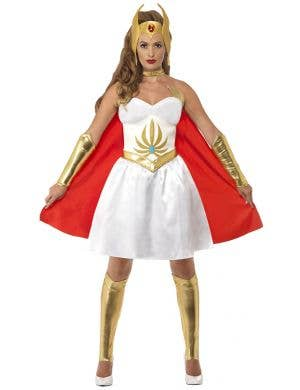 Masters of the Universe Women's Princess of Power She-Ra Costume Image 1