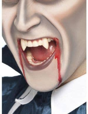 Vampire Fang Tooth Caps - White