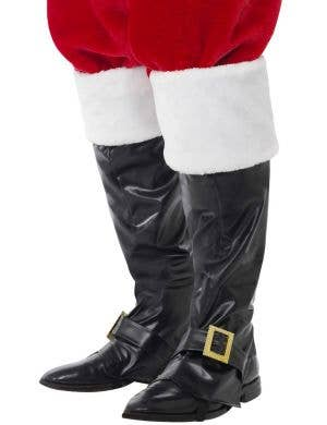 Santa Claus Deluxe Boot Covers Costume Accessory