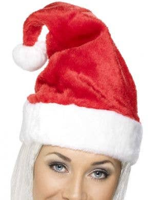 Deluxe Red Christmas Santa Hat