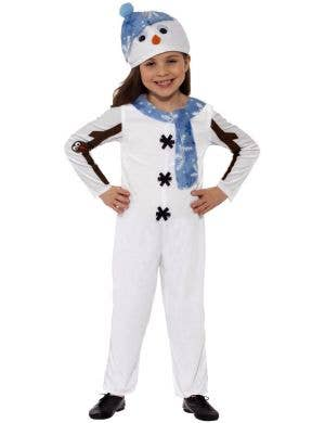 Christmas Snowman Toddler Fancy Dress Costume