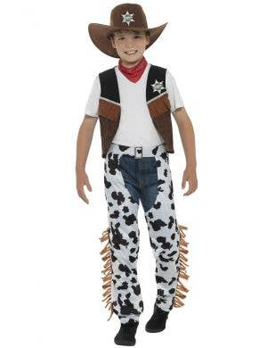Texas Cowboy Boys Wild West Fancy Dress Costume Main Image