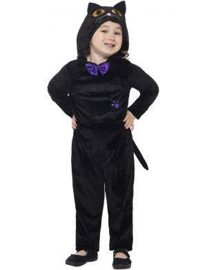Cute Black Cat Toddler Girls Halloween Costume