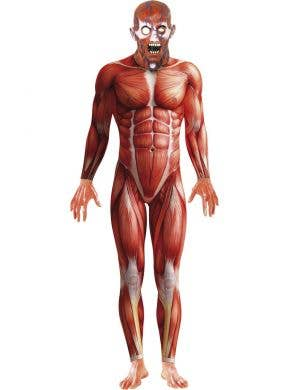 Muscle Man Suit Men's Anatomy Halloween Costume
