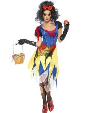 Snow Fright Women's Fancy Dress Halloween Costume